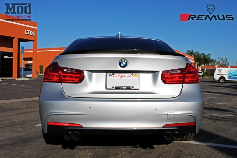 BMW_F30_328i_Forgestar_F14_Remus_Exhaust_Injen_N20_Intake_CF_Mirrors_CFSpoiler_IMG007