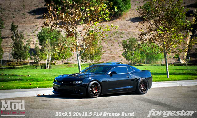 Quick Snap 2015 Camaro Ss On Forgestar F14 Wheels 20in