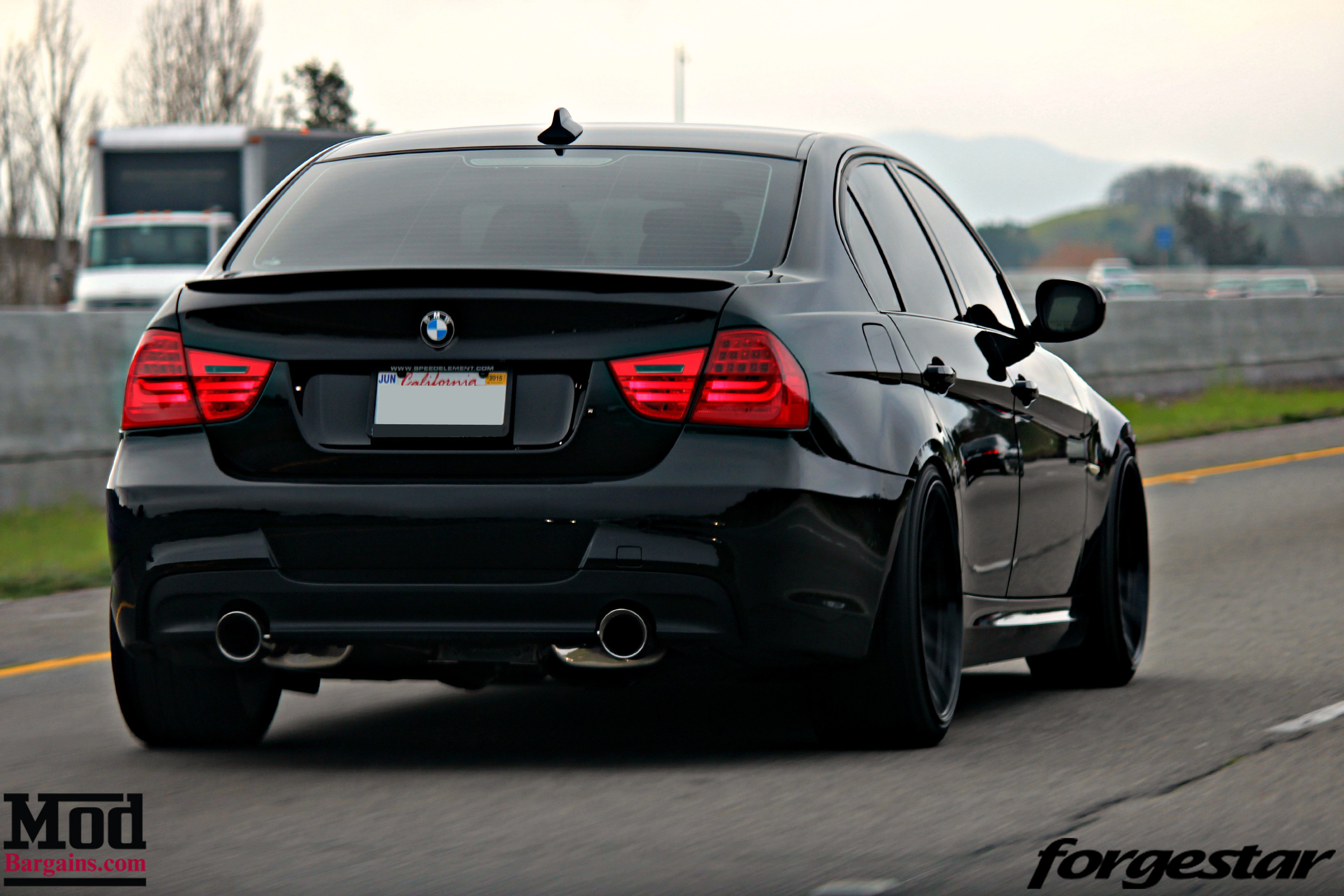 Cole Durden S E90 335i Brings The Fight On Forgestar F14