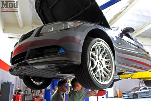 Motul Transmission Fluid Change on E90 BMW 335i – Mod Auto offers BMW Trans Oil Change services