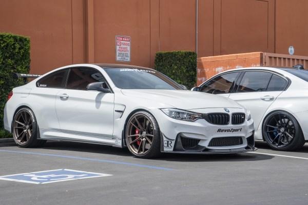 Super clean Alpine White BMW M4