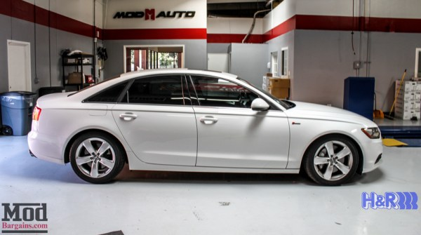 Drop It Like It's Hot: H&R Springs for C7 Audi A6 3.0 Quattro Supercharged