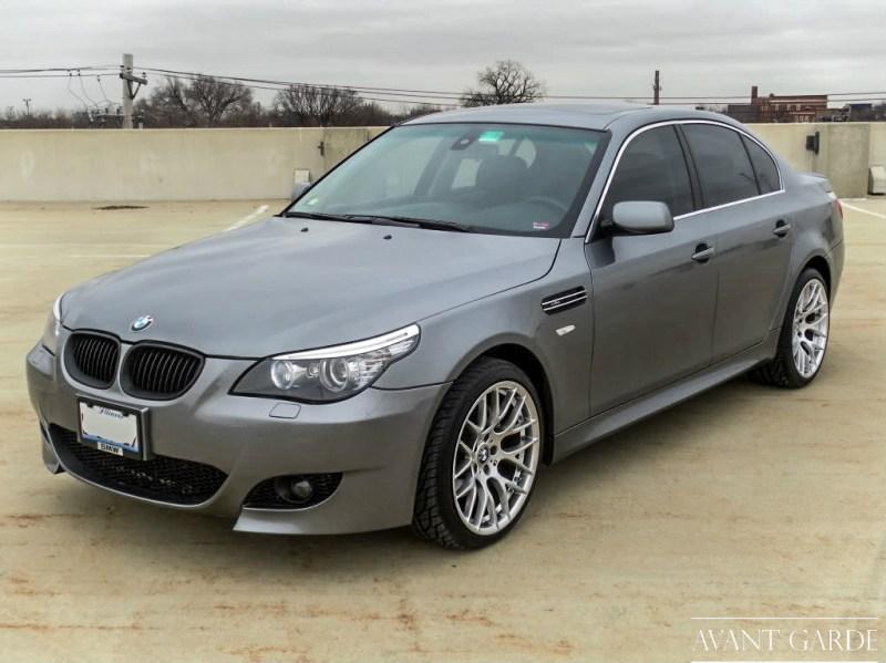 BMW E60 535i (Grey) - Hyper Silver M359 - agwheels