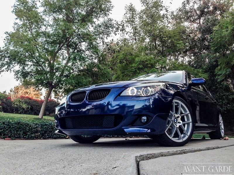 """BMW 550i - 19x8.5"""" / 19x9.5"""" Satin Silver M510"""