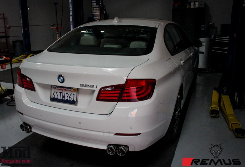 BMW_F10_528i_Remus_Quad_Exhaust_NonM_Lip_white-15