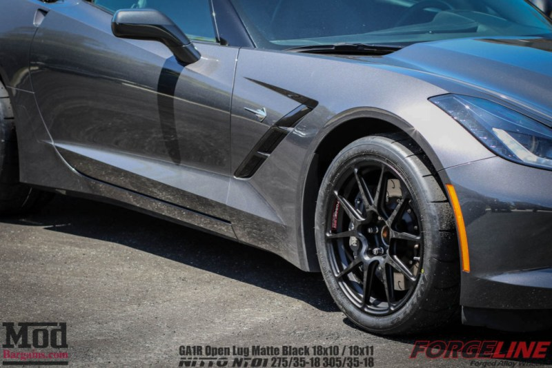Forgeline_C7_Corvette_Black_Wheels_Nitto_NT01_275-35-18-305-35-18_-45