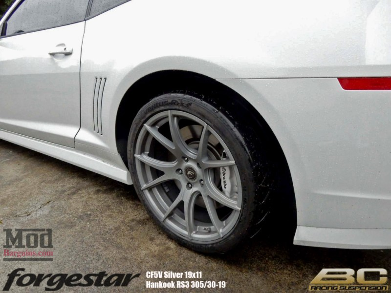 Forgestar-CF5V-19x11-Silver-BC-Coilovers-Camaro-ZL1-Hankook-RS3-305-img (2)
