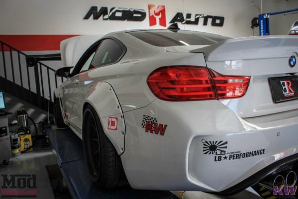ER's Insane Widebody BMW M4 F82 Liberty Walk Monster Gets Aligned @ ModAuto