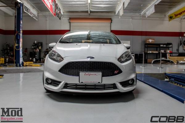 Fiesta ST Cobb Stage II (FMIC, Intake, RMM, AP + BOV) Installed at ModAuto