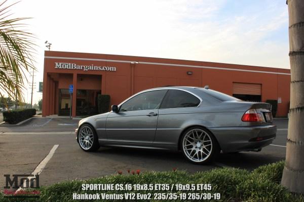 Quick Snap: Super Clean BMW E46 330CI on Sportline CS.16 Wheels