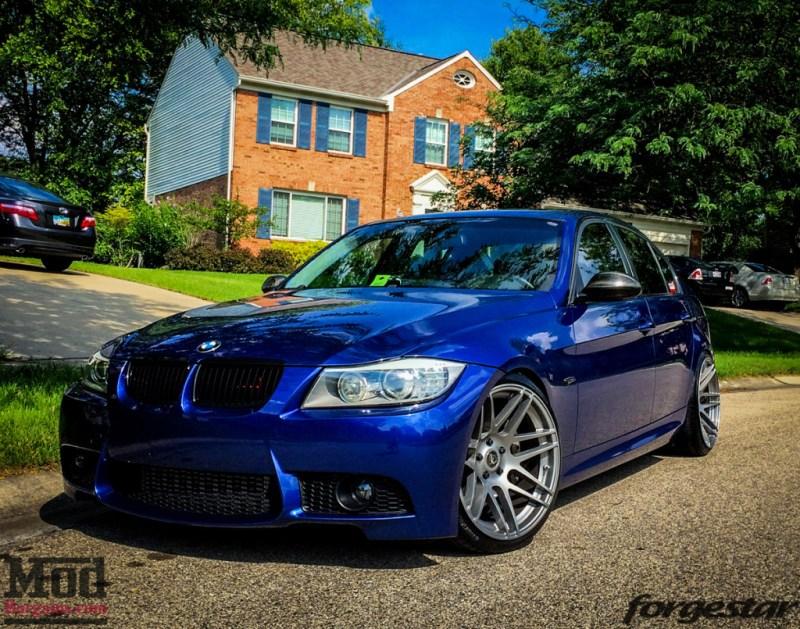 BMW E90 M3 Forgestar F14 19x95et22 19x11et25 SDC-8