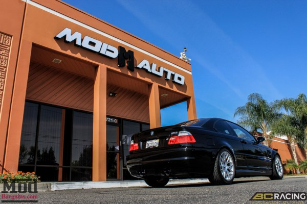Quick Snap: BMW E46 M3 Gets low on BC Coilovers & Sportline CS16 Wheels