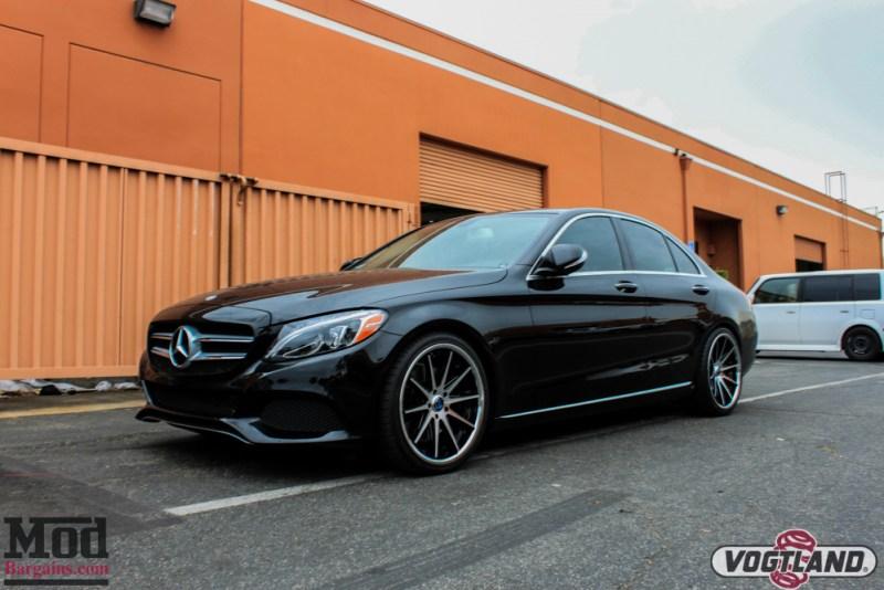 Mercedes_C300_4Matic_Rohana_Wheels_Vogtland_Springs-4