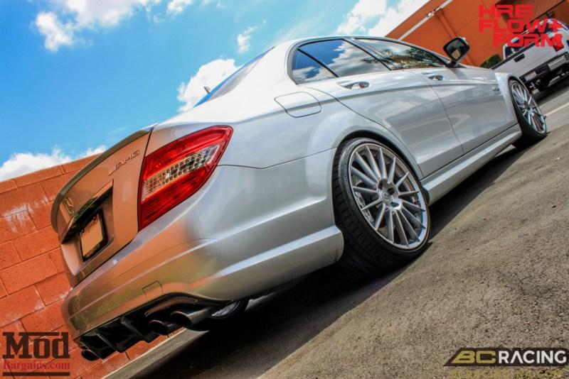 Mercedes_W204_C63_AMG_BC_ER_Coilovers_HRE_FF15_CF_Lip_Diffuser-4