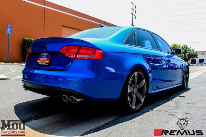 Audi_B85_S4_SepangBlue_Remus_Quad_Exhaust-5