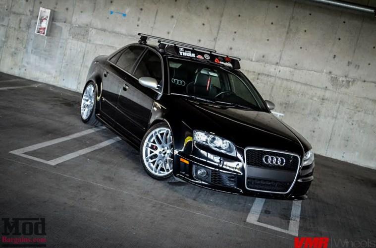 Quick Snap B7 Audi Rs4 On Vmr V718 Wheels