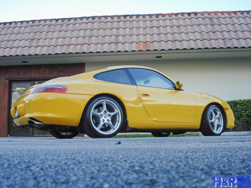 Porsche-996-Carrera-2S-Yellow-H&R-Springs-img002