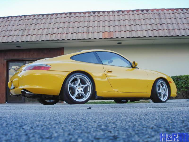 Porsche-996-Carrera-2S-Yellow-H&R-Springs-img002