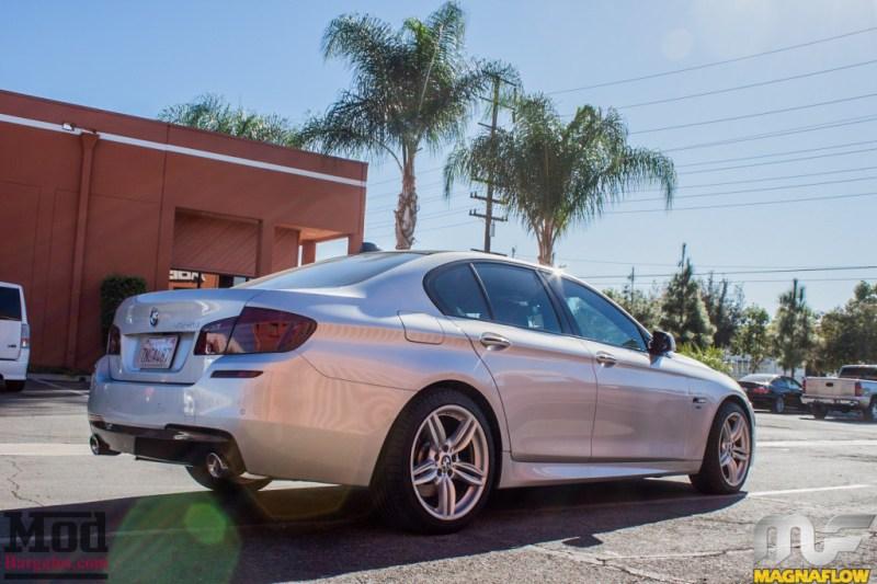 BMW F10 535i Silver Magnaflow Catback Exhaust (15)