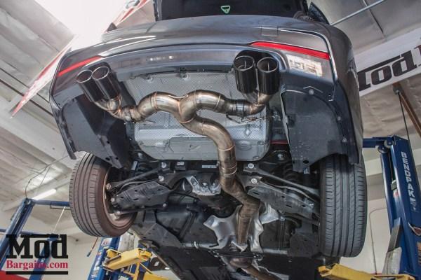 F30 BMW 328i Gets M4 Bumpers, Injen Intake & Meisterschaft Exhaust @ ModAuto