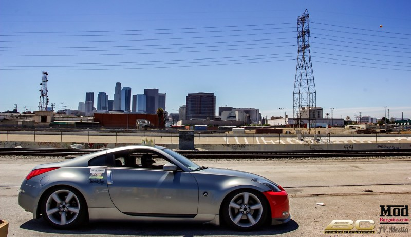 Nissan 350z BC Coilovers 2
