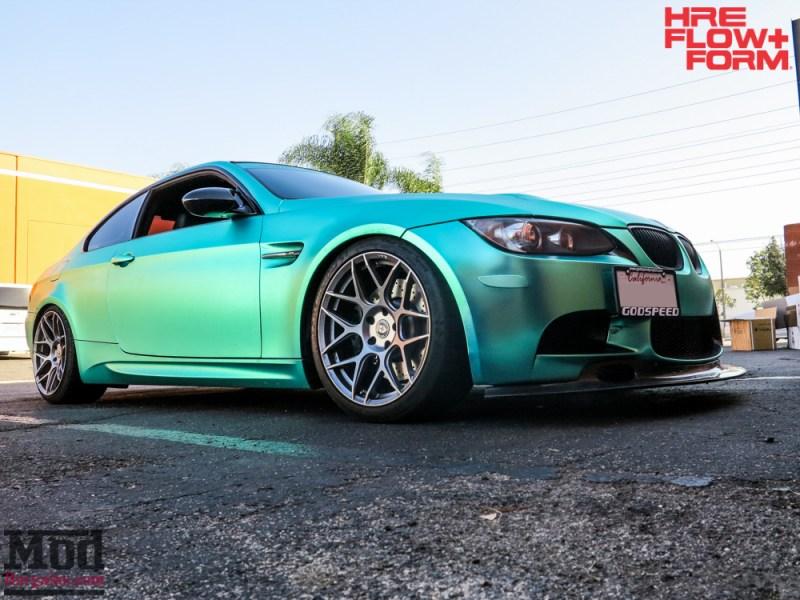 BMW_E92_M3_MatteTeal_HRE_FF01_Fog-10