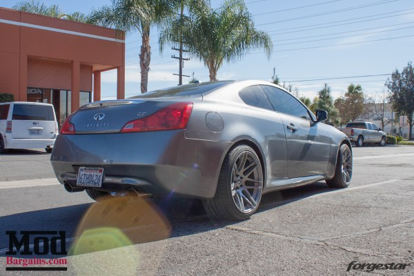 Quick Snap: Infiniti G37 on Forgestar F14 Wheels in Gunmetal @ ModAuto