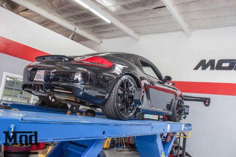 Porsche_987.2_Cayman_S_Ruger_Mesh_MatteBlack_20in_Springs_Exhaust-33