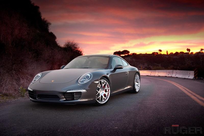 Porsche 991 Carrera S - Hyper Silver Ruger Mesh - agwheels