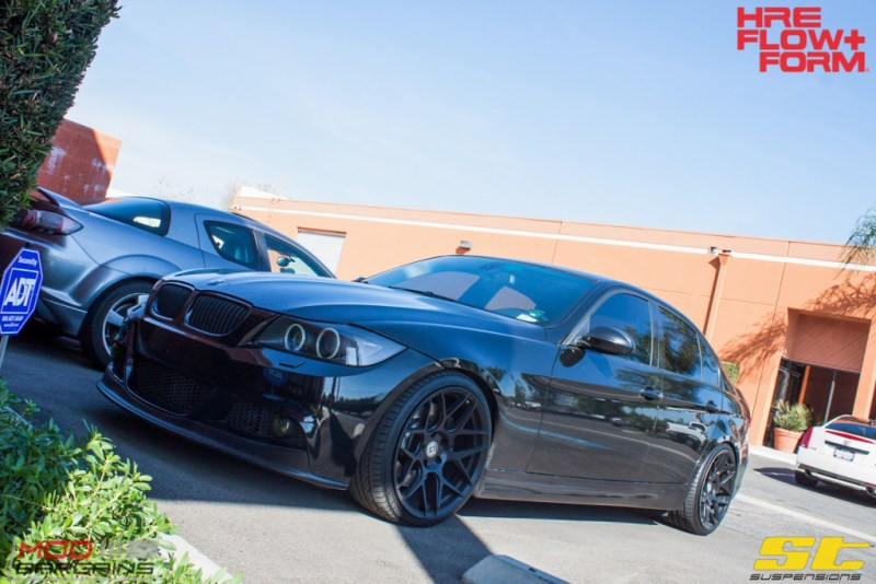 BMW_E90_335i_HRE_FF01_Tarmac_19in_ST_Coilovers-5