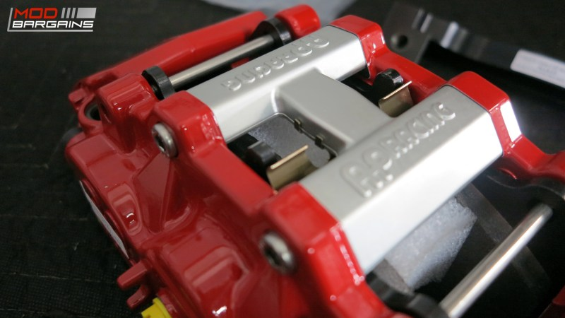 AP Racing Radi-CAL Front Big Brake Kit - Red Calipers - 2015