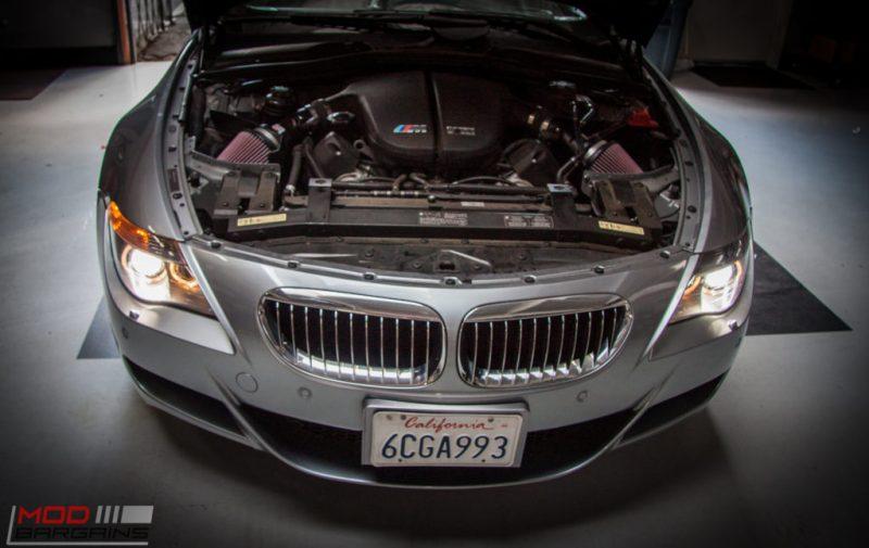 BMW E63 M6 K&N Intakes (4)