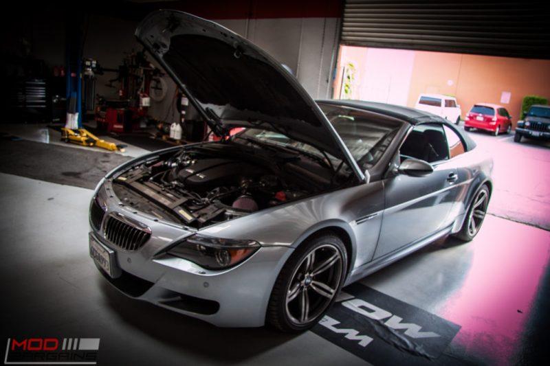BMW E63 M6 K&N Intakes (5)
