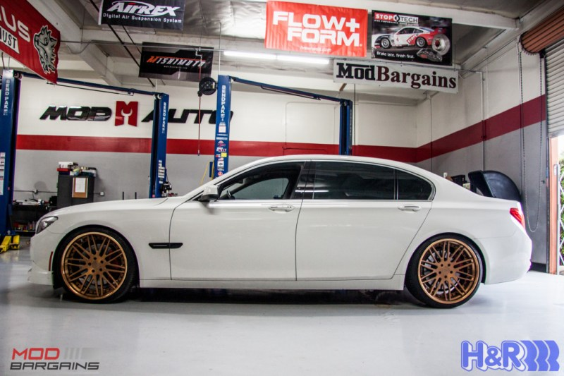 BMW F01 750li HR Springs Rennen Forged Sean Customer (8)