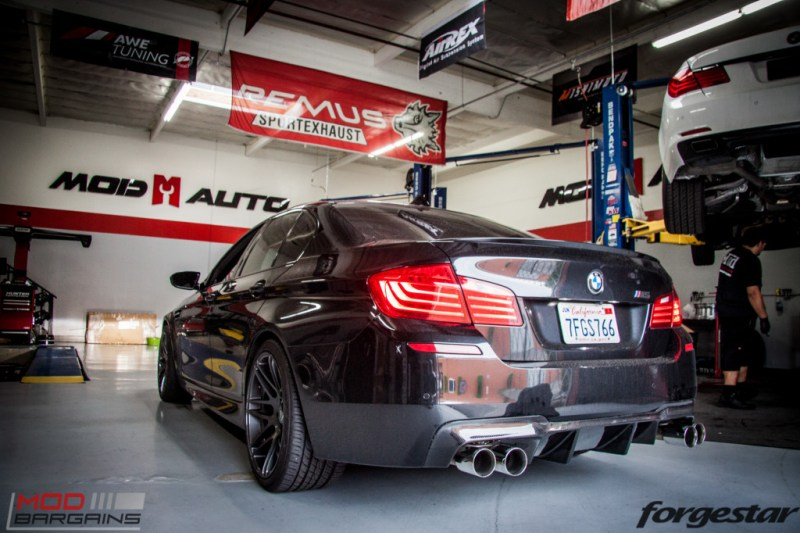 BMW F10 M5 RPI Exhaust Forgestar F14 (3)