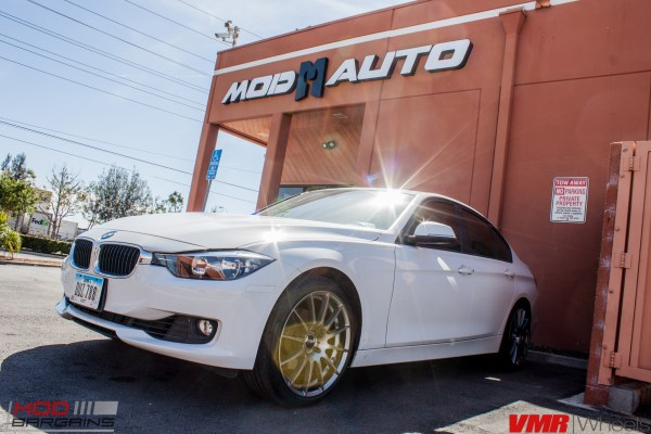 Quick Snap: F30 BMW 328i on VMR V721 Wheels Embodies Classy Minimalism