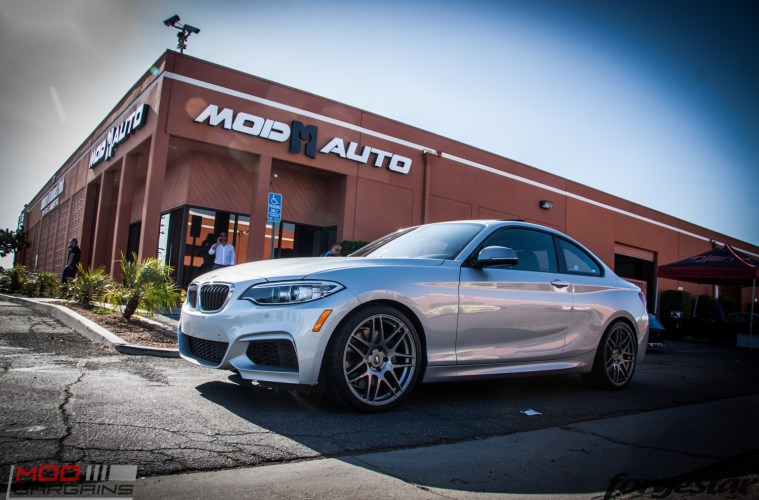 Quick Snap F22 BMW M235i On Forgestar F14s Gets Custom Fitted
