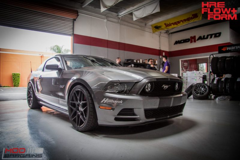 Ford S197 Mustang GT HRE FF01 BC Coilovers WHiteline (17)