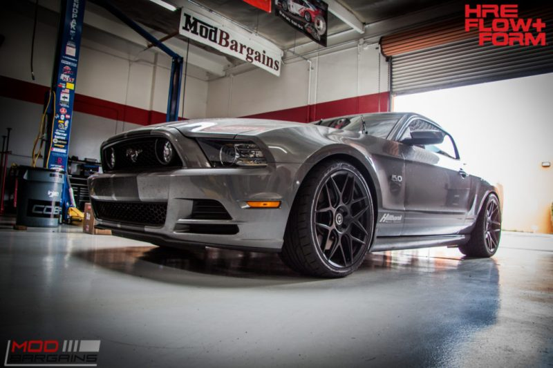 Ford S197 Mustang GT HRE FF01 BC Coilovers WHiteline (5)