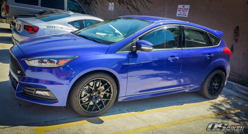 OS Giken USA- (STX) Ford Focus ST Build IMG010 AGM359 275-35-18 18x9.5 ET48 img001