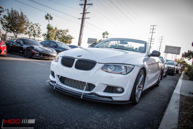BMW E93 335is VRSF FMIC APR Lip Installed (3)
