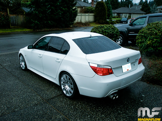 BMW_E60_550i_Magnaflow_Exhaust