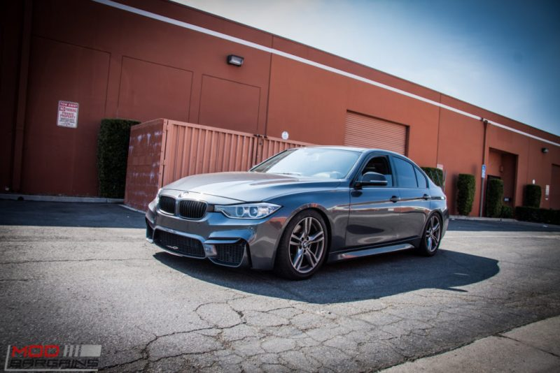 BMW_F30_328i_M4_Bumper_AWE_Quad_Exhuast_Msport_rear_Lowered (21)