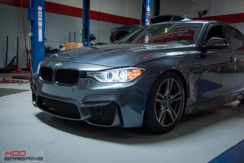BMW_F30_328i_M4_Bumper_AWE_Quad_Exhuast_Msport_rear_Lowered (6)