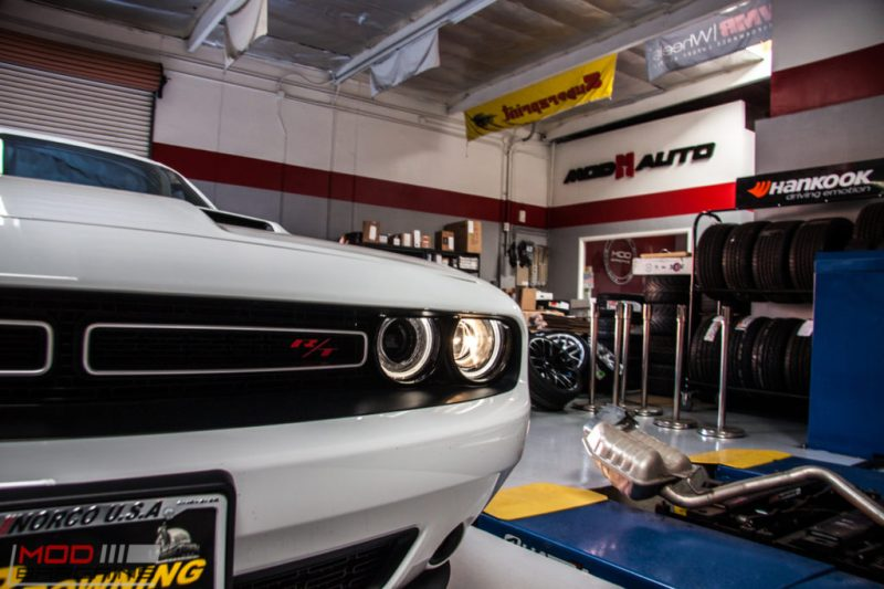 Dodge Challenger RT Borla Exhaust (1)