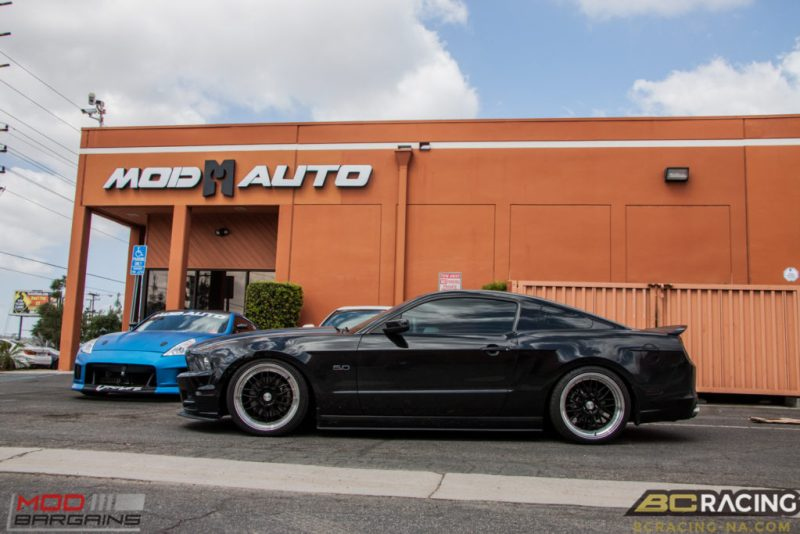 Ford Mustang GT S197 BC Coilovers Eurotek MM6 20in (12)