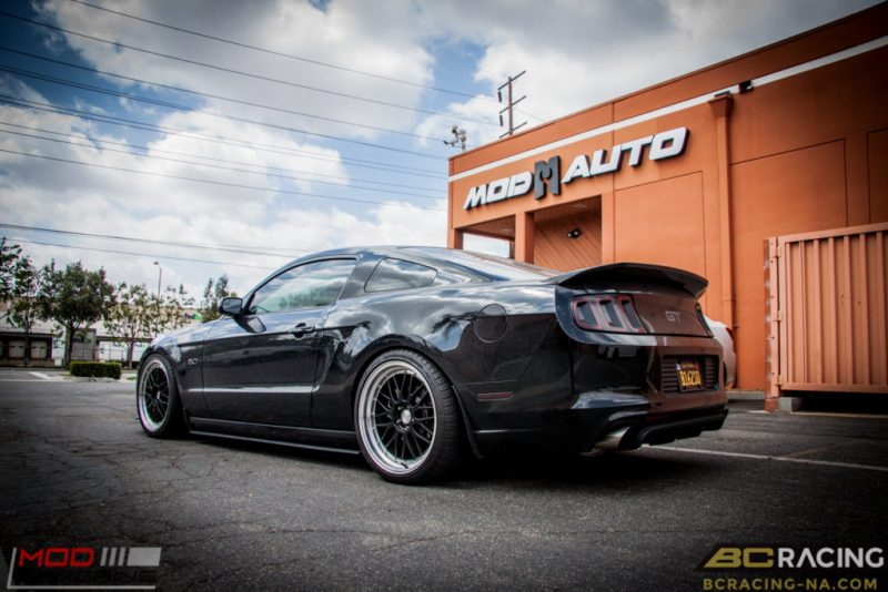 Ford Mustang GT S197 BC Coilovers Eurotek MM6 20in (13)