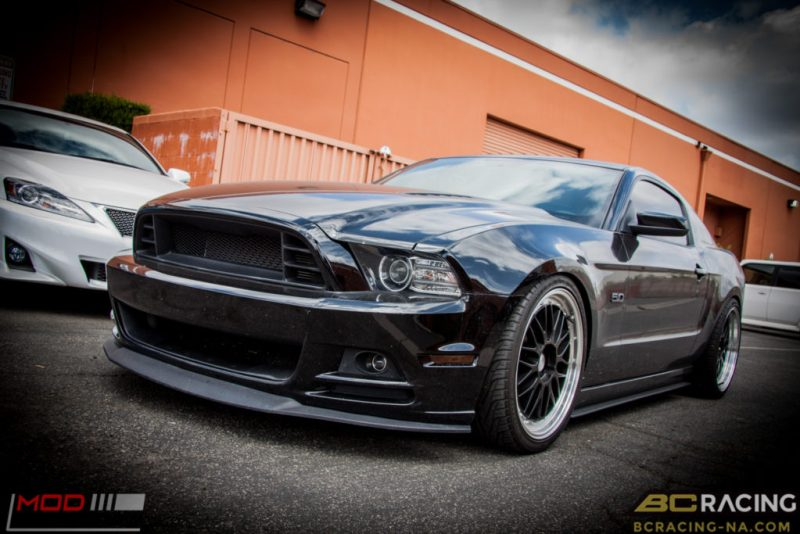 Ford Mustang GT S197 BC Coilovers Eurotek MM6 20in (18)