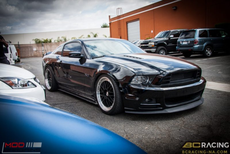 Ford Mustang GT S197 BC Coilovers Eurotek MM6 20in (20)