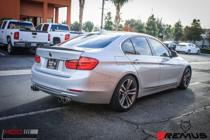 BMW F30 335i Remus Quad Tips (12)